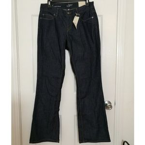LOFT Curvy Boot Jeans NWT